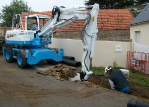 Le Roux TP - Particuliers - Assainissement et raccordement - Réseau assainissement - 1