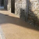 Le Roux TP - Travaux Publics - Aménagement urbain - Trottoir en béton désactivé lavé -10