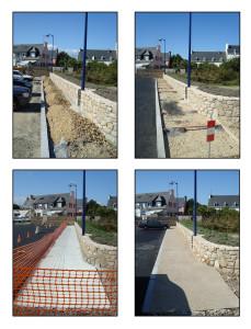 Le Roux TP - Travaux Publics - Aménagement urbain - Aménagement de zone piétonne - 3