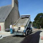 Le Roux TP - Travaux Publics - Voirie route - Gravillonage