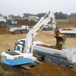 Le Roux TP – Travaux Publics – Plateforme industrielle - Plateforme en cours de terrassement - 1