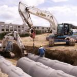 Le Roux TP – Travaux Publics – Plateforme industrielle - Canalisation - 7